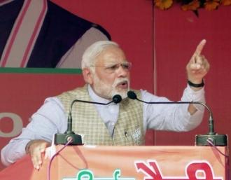 गुजरात चुनावः धुंधका रैली में बोले पीएम मोदी- सिब्बल चाहते है राम मंदिर रोका जाए